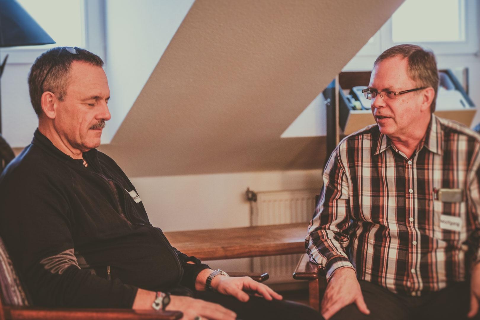 Im Hypnose Seminar mit Thimon von Berlepsch