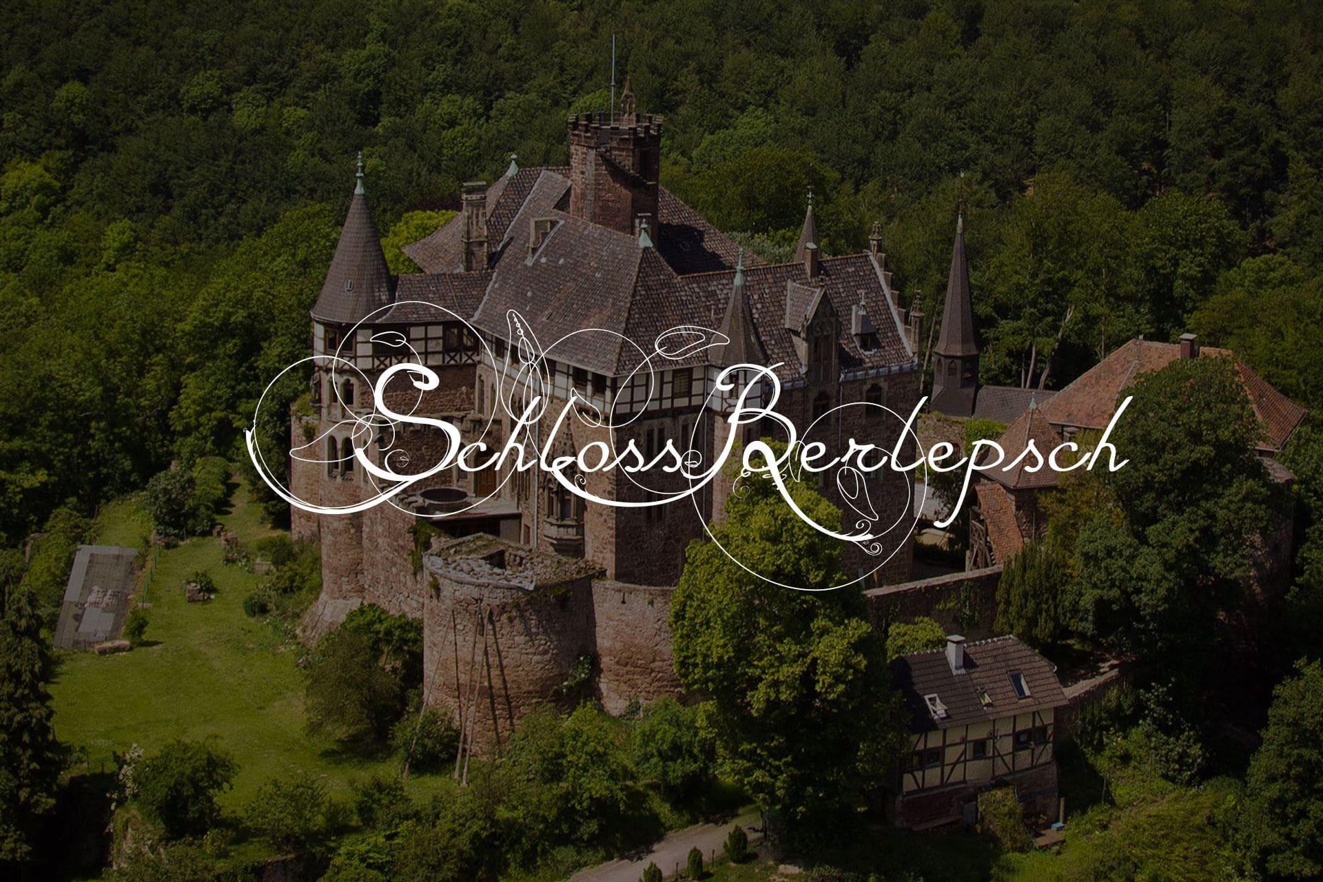 Thimon von Berlepsch zur Silvbestergala auf Schloss Berlepsch